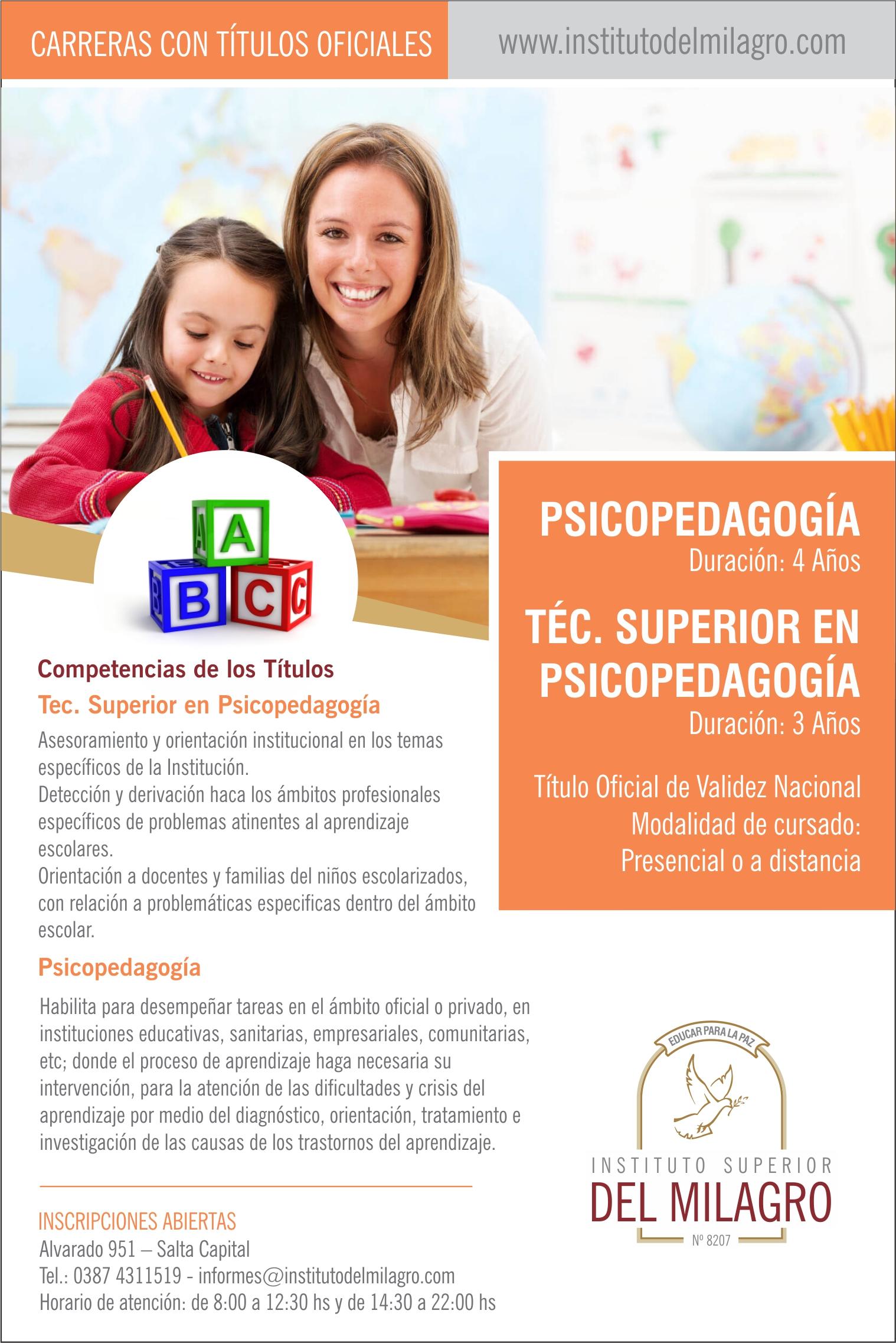 Flyer_Psicopedagogia